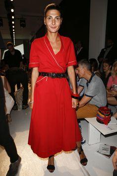 Giovanna Battaglia - Altuzarra Spring 2017 Ready-to-Wear Front Row Celebrity Photos - Vogue