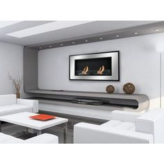 Ignis Bellezza Recessed Bio Ethanol Fireplace
