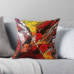 #arankaarts #findyourthing #abstractart #redbubble #abstractdesign #digitalart #digitaldesign Abstract Art, Digital Art, Vibrant, Throw Pillows, Prints, Design, Toss Pillows, Cushions