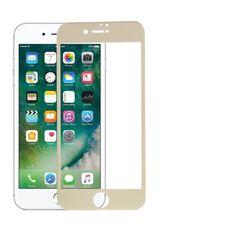 Protection d'écran Verre Trempé iPhone 7 Plus - Or