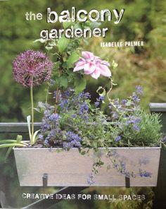 Balcony Gardener - lovely book
