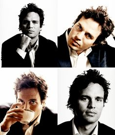 Hulk, Mark Ruffalo. Why do I like his hair so much? It's like the most messed up thing I've ever seen.