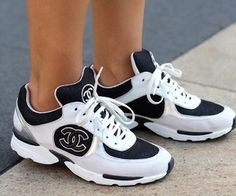 My Chanel sneakers | via Tumblr