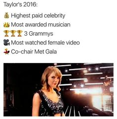 Taylor's 2016!