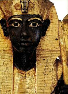 Egyptian Pharaoh. Black was a symbol of the rich fertile earth of the Nile valley and the netherworld and its specific deities. In a non-funerary sense it could be a symbol of fertility.