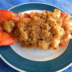Easy Baked Stuffed Lobster Tails