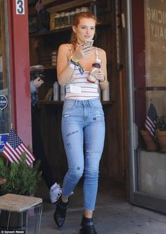 Perkier:Later on Tuesday, Bella was also spotted picking up a cold-pressed juice in Beverly Hills after a quick wardrobe change and a fresh face of make-up