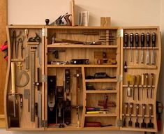 UPDATED: Ohhhhhhhhh baby! I wanna build a GIANT tool cabinet! - by StumpyNubs @ LumberJocks.com ~ woodworking community #WoodWorkingToolsCarpentry