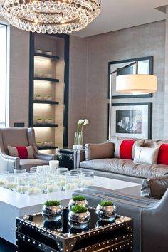 Living room by Kelly Hoppen
