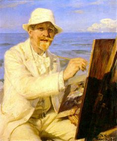 Self portrait Peter Severin Krøyer