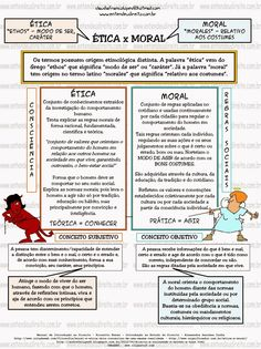 ENTENDEU DIREITO OU QUER QUE DESENHE ???: ÉTICA X MORAL