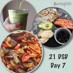 What I ate during week 1 of the 21 Day Sugar Detox - Level 3. #21DSD #Paleo