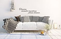 Something magical is going to happen today. Designing wall stickers inspired by angels. Will be soon in my web shop - first only in Finland. Fixer Upper, Wall Stickers, The Help, Love Seat, Couch, Whisper, Finland, Angels, Inspiration