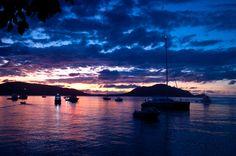 Sunset at Fitzroy Island, Queensland, Australia