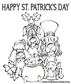 Patrick's Day! Please enjoy this free coloring page to celebrate with … Happy St. Patrick's Day! Please enjoy this free coloring page to. Bear Coloring Pages, Printable Adult Coloring Pages, Coloring Pages For Kids, Coloring Books, Coloring Sheets, Colouring, St Patricks Day Pictures, St Patricks Day Crafts For Kids, St Patrick's Day Crafts