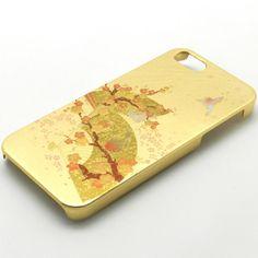金沢箔 iPhone5+5S ケース うららか