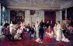 1886 Danish royal family