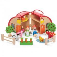 Drewniany domek Farma