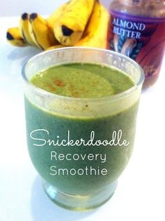 Snickerdoodle Recovery Smoothie