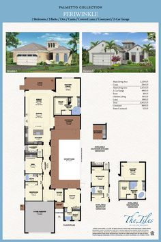 Isles of Collier Preserve - Periwinkle Model - Naples FL | Minto