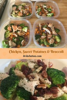 Try Chicken, sweet potatoes and broccoli as a meal or salad either way you will not be disappointed. Cube the potatoes and better than mashed. Ways To Lose Weight, Weight Gain, Get Skinny, Disappointed, Broccoli, Sweet Potato, Potatoes, Cooking Recipes, Salad