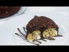 Пирог с творожно-кокосовыми шариками