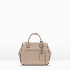 Image 1 of CITY BAG WITH ZIPS from Zara