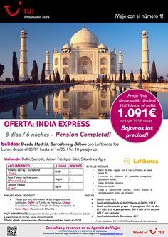 #Ofertas #India #viajes #vacaciones