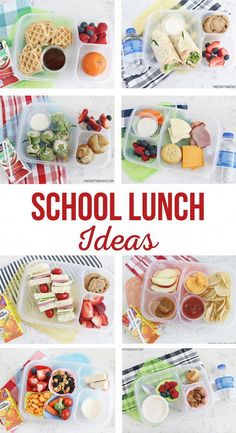 Back To School Lunch Ideas, Healthy Lunches For Kids, Healthy School Lunches, Toddler Lunches, School Lunch Box, Lunch Snacks, Kids Meals, Simple Lunch Ideas, Cold Lunch Ideas For Kids