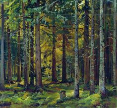 Fir forest - Ivan Shishkin