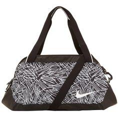 Nike Legend Club Print Gym Bag (2,615 DOP) ❤ liked on Polyvore featuring bags, nike, print bags, nike bag, gym bag and top handle bag
