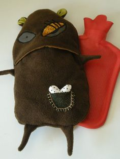 cutest critter ever...to keep you warm. love this idea
