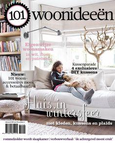 Cover Dutch creative interior magazine 101Woonideeen 11-2012