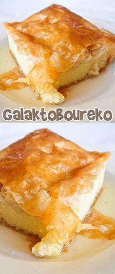 Galaktoboureko Recipe