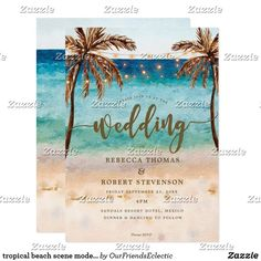 513 Best Beach Wedding Invitations Images In 2019