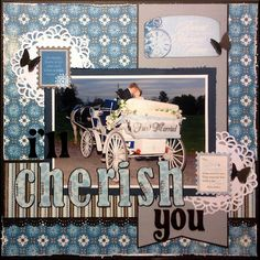 """Beuatiful layout made using our """"Journey"""" collection #AuthentiquePaper"""