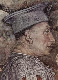 Mantegna / Louis 3 de Mantoue . 1474