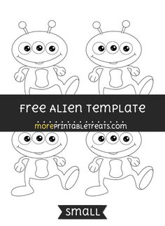Free Alien Template - Small