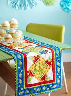 Dress tables for any holiday or season with these free table runner patterns.  They'll add quick color and style to your home--and are a breeze to whip up!