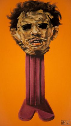 Artist Turns Horror Icons Into Scary Pez Dispensers