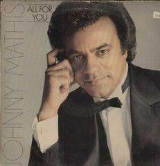 Jonny Mathis All For You English Vinyl LP