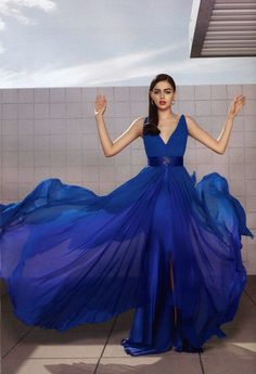 """An oh-so-fabulous Blue Gown to wear to Founder's Day Celebration!  Must be """"stroll"""" approved!"""