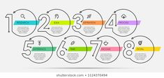 Find Thin Line Minimal Infographic Design Template stock images in HD and millions of other royalty-free stock photos, illustrations and vectors in the Shutterstock collection. Work Flow Chart, Process Flow Chart, Text Design, Sign Design, Banner Design, Flat Web Design, Graph Design, Design Innovation, Minimal