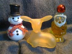 Avon collectable perfume bottles