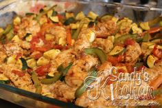 Sandy's Kitchen: Oven Baked Chicken Fajita