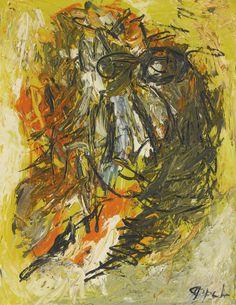 'Tête Jaune' (1963-64) by Karel Appel