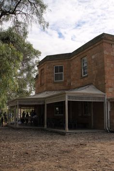 McLeods Daughters homestead back of house