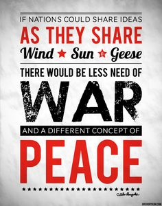 Public perception of war can be seen through images and quotes posted elsewhere on Pinterest. Please post your views and experiences here, and share your thoughts with our readers.