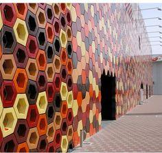 Expo-Pavilion, Aichí, Japan / Ceramica Cumella