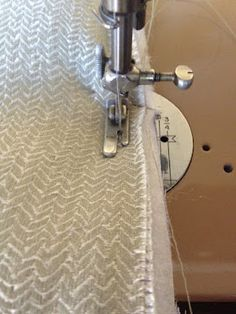 DIY Euro Sham - w/batting so flanges don't flop